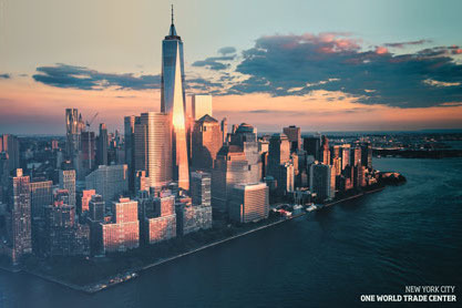 New York One World Trade Centre - Maxi Paper Poster