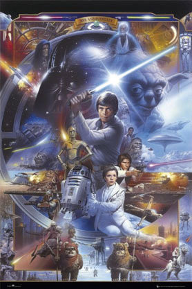 Star Wars 30th Anniversary - Maxi Paper Poster