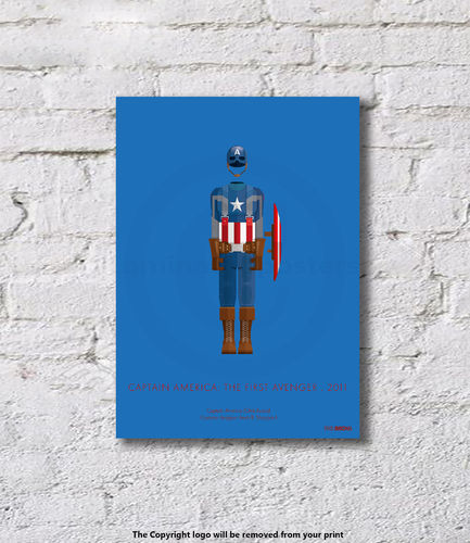Captain America - The First Avenger - 2011 - Art Print