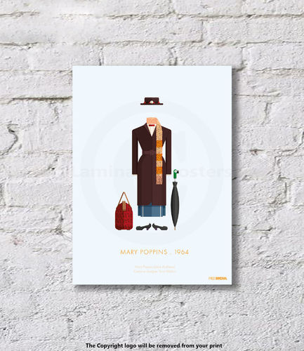 Mary Poppins - 1964 - Art Print