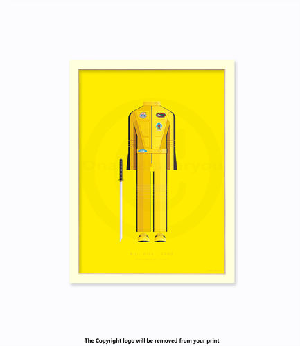 Kill Bill - 2003 - Art Print