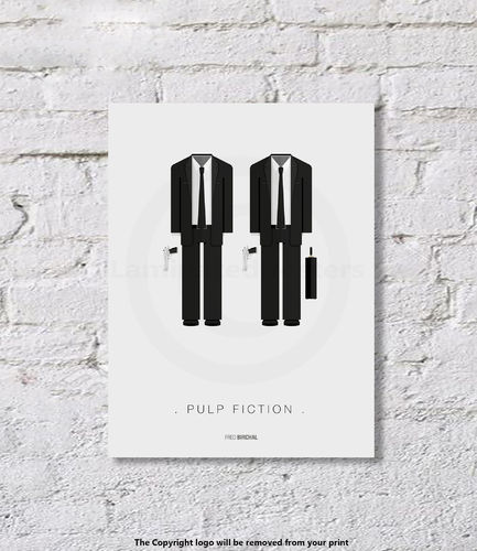 Pulp Fiction - Art Print