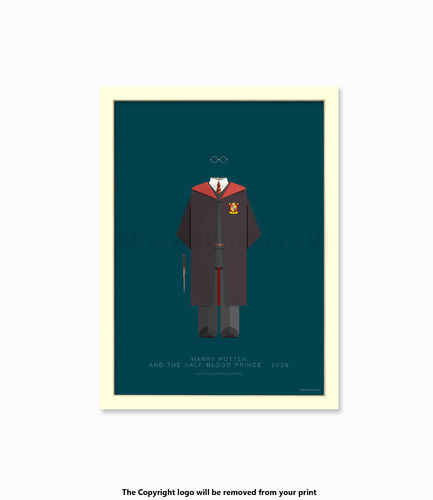 Harry Potter ( Daniel Radcliffe ) - Art Print