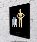 Star Wars - R2-D2 and C3PO - Block Mounted