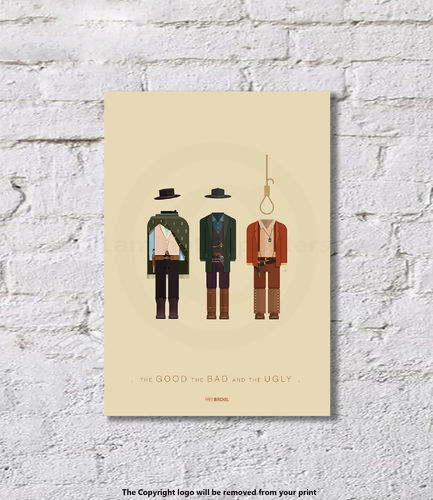 The Good The Bad And The Ugly - Art Print