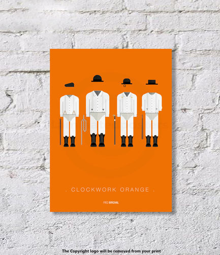 Clockwork Orange - Art Print