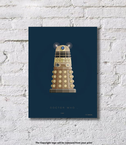Doctor Who - Dalek - Art Print