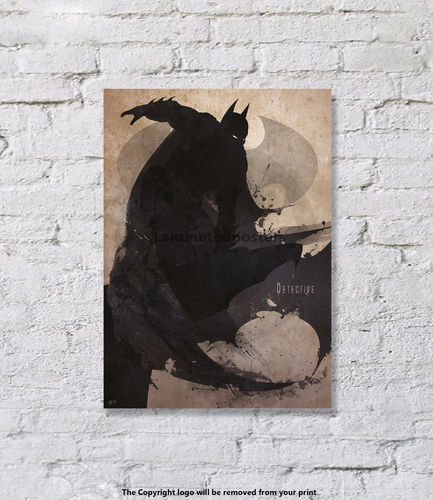 Batman - Superhero - Art Print