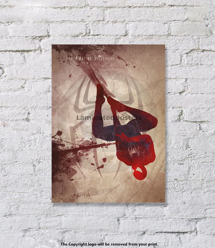 The Amazing Spiderman - Superhero  - Art Print