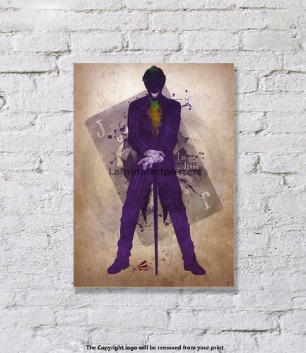 The Joker  - Art Print