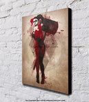 Harley Quinn - Superhero - Block Mounted