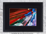 Superman - Man Up - Superhero - Framed Black Mount