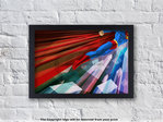 Superman - Man Up - Superhero - Framed Print