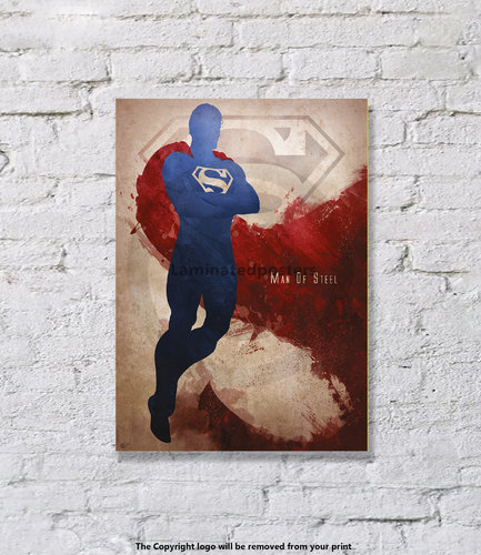 Superman - Son Of Krypton - Superhero - Art Print