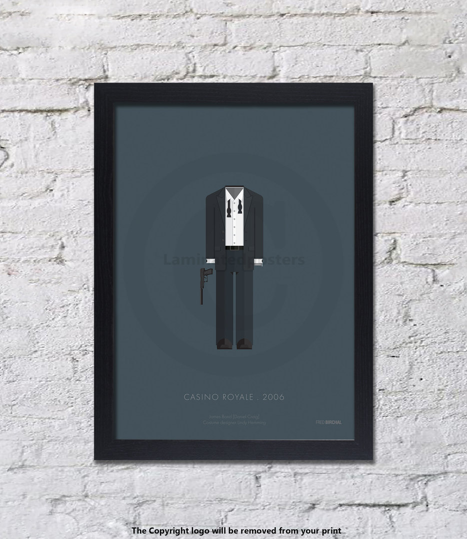 007 - Casino Royale - UNFRAMED - Art Print