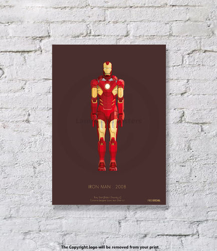 Iron Man - UNFRAMED - Art Print