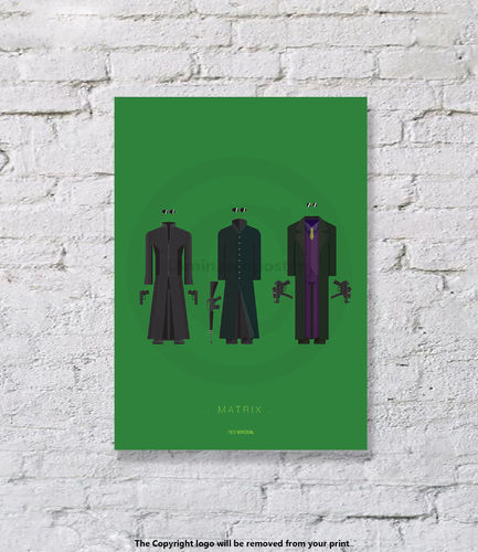Matrix - UNFRAMED - Art Print