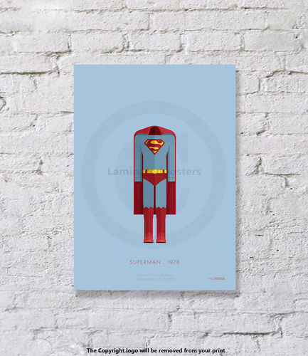 Superman - UNFRAMED - Art Print