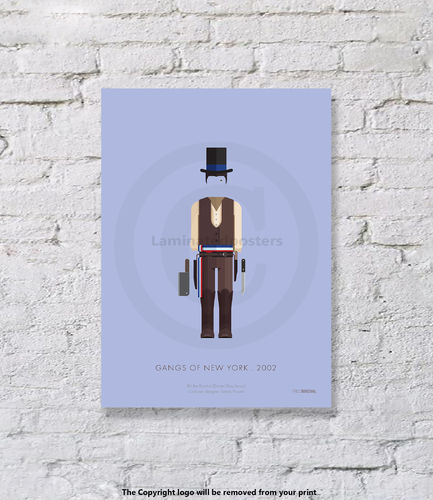 Gangs of New York - UNFRAMED - Art Print