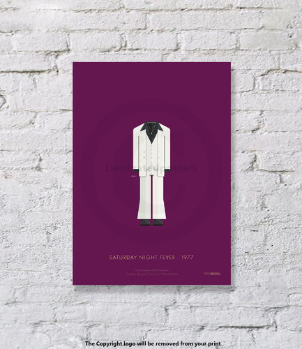 Saturday Night Fever - UNFRAMED - Art Print