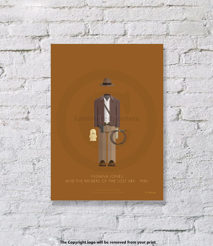 Indiana Jones - UNFRAMED - Art Print