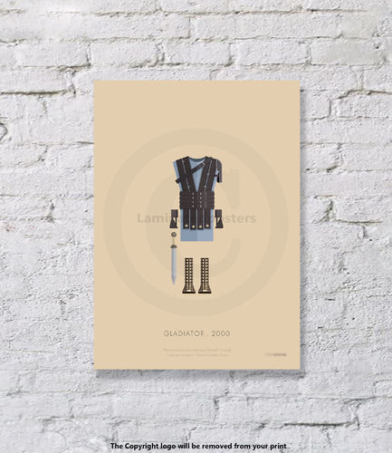 gladiator - UNFRAMED - Art Print