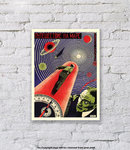 Journey To Mars - Art Print