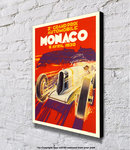 Monaco Grand Prix - Block Mounted Print
