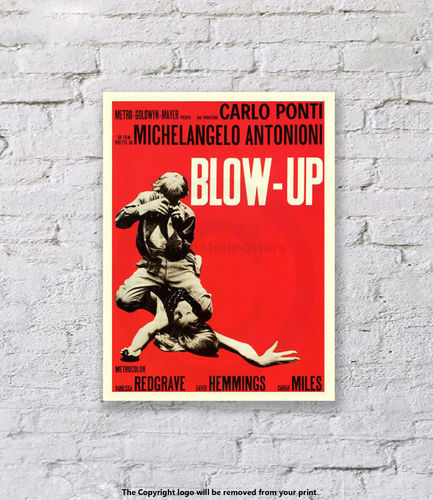 Blow Up - Art Print