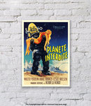 Forbidden Planet - Art Print