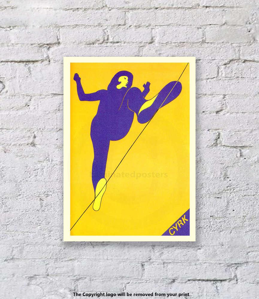 Cyrk Polish Circus - Art Print - Laminated Posters