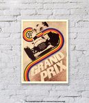 Grand Prix Motor Racing - Art Print