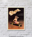 Olympic Skateboard - Art Print