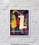 Philips For Jazz 1955 - Art Print