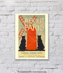 About Paris - Art Print